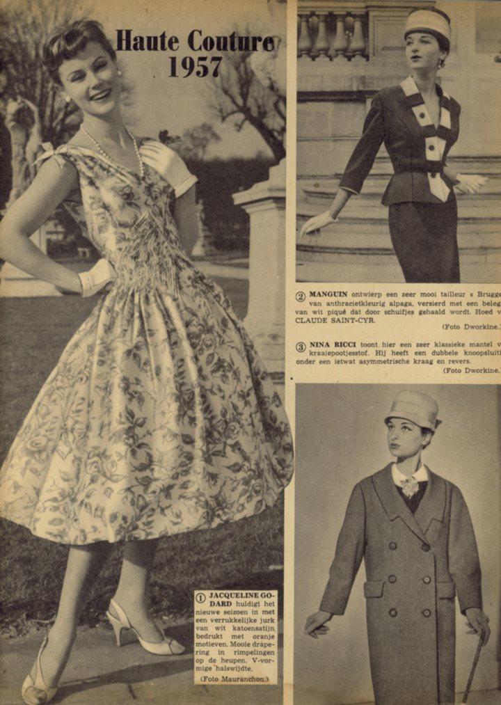 haute couture 1957