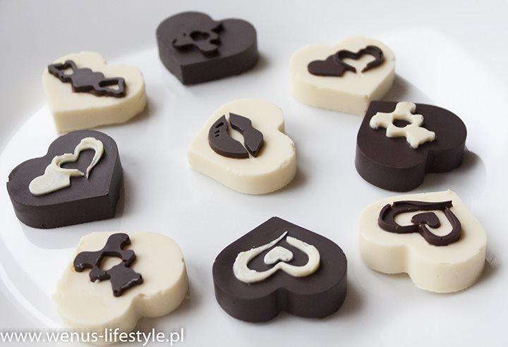pralinki walentynki czekoladki