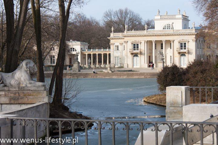 Pałac Łazienki Pałac na Wyspie Pałac na Wodzie