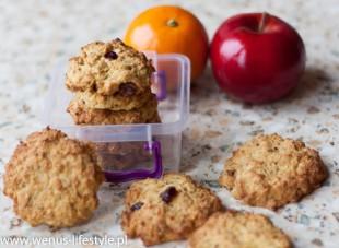 ciasteczka owsiane składniki prosty szybki przepis drugie śniadanie przekąska 5