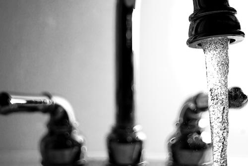 kran woda mycie