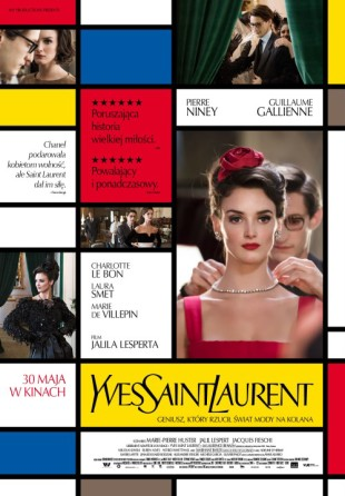 ysl yves saint laurent film 2014 plakat