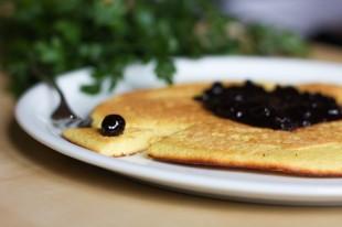 omlet przepis bezglutenowy z mąką kukurydzianą 2