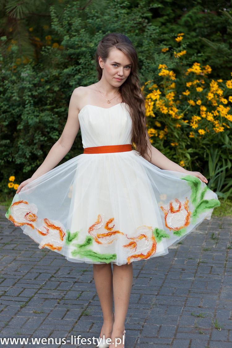 sukienka dla druhny świadkowej jak się ubrać na wesele na ślub 3