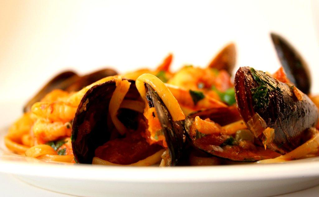 seafood owoce morza